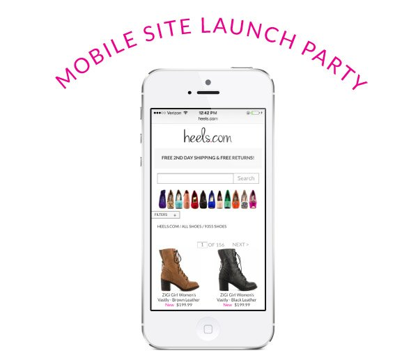 Mobile Site Launch Party!