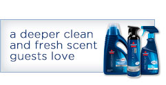 a deeper clean and fresh scent guests love