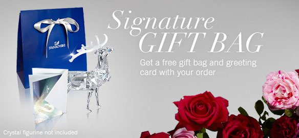 Get a free gift bag and greeting card with your order