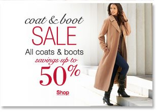 Coat and Boot sale