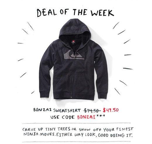 Bonzai Sweatshirt $49.50 - Use code Bonzai***