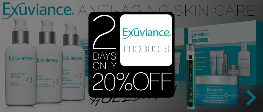 New from Exuviance - Anti-aging just in time for holidays!