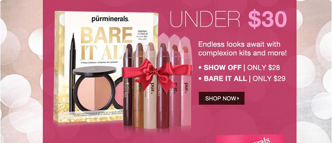 UNDER $30: Endless looks await with complexion kits and more!