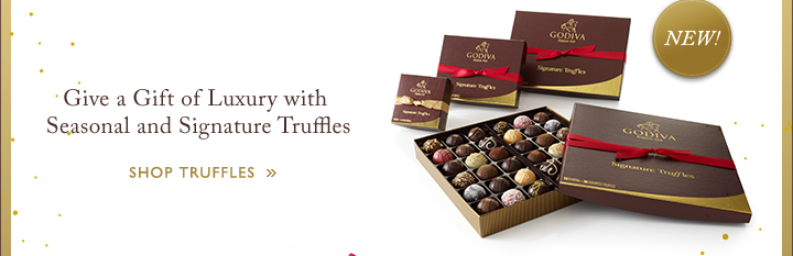 Give a Gift of Luxury with Seasonal and Signature Truffles | Shop Truffles