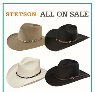 All Stetson Hats on Sale