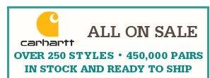 All Carhartt Workwear on Sale