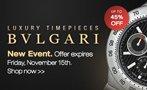 Bvlgari Watch flash sale