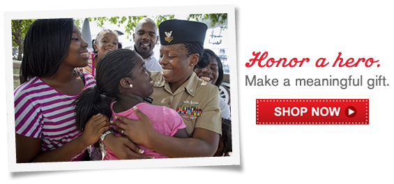 Honor a hero. Make a meaningful gift.