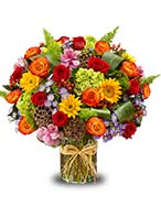 Send the biggest birthday surprise ever with our colorful, hand-designed Garden of Grandeur™ for fall arrangement!