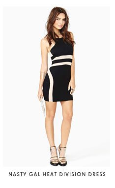 Nasty Gal Heat Division Dress