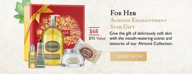 Almond Enchantment Star Gift