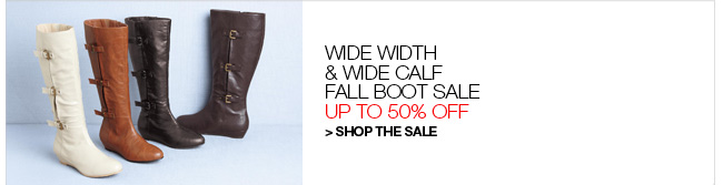 Shop the Fall Boot Sale, Up to 50% Off