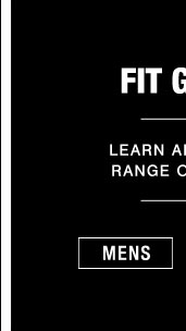 Fit Guide - Mens