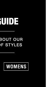 Fit Guide - Womens