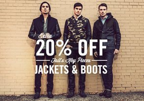 Shop Fall's Key Pieces: Jackets & Boots