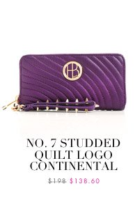 No. 7 Studded Quilt Logo Continental