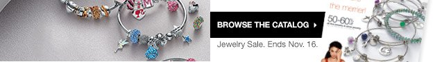 Browse the catalog. Jewelry Sale. Ends Nov. 16