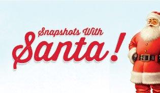 Snapshots with Santa!