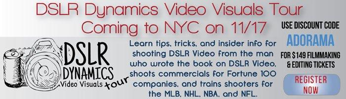 Adorama - DSLR Dynamics Video Visuals Tour