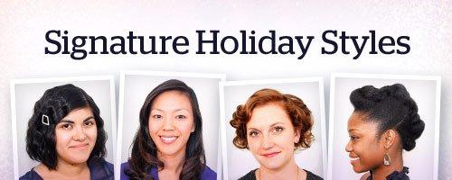 Signature Holiday Styles