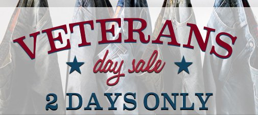 VETERANS day sale 2 DAYS ONLY