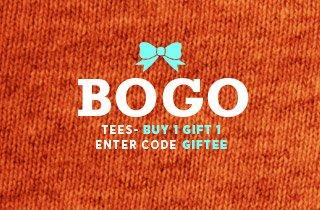 Buy One, Gift One: Tees