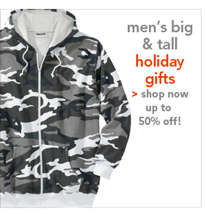 Shop Men's Big & Tall Holiday Gifts