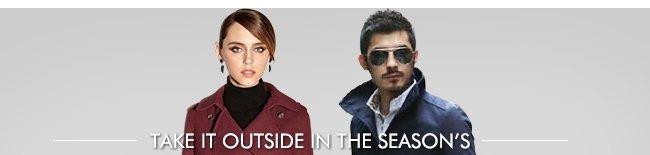 Take It Outside in the Season's Top Outerwear
