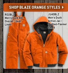 Click Here To Shop Made In The USA Blaze Orange Styles