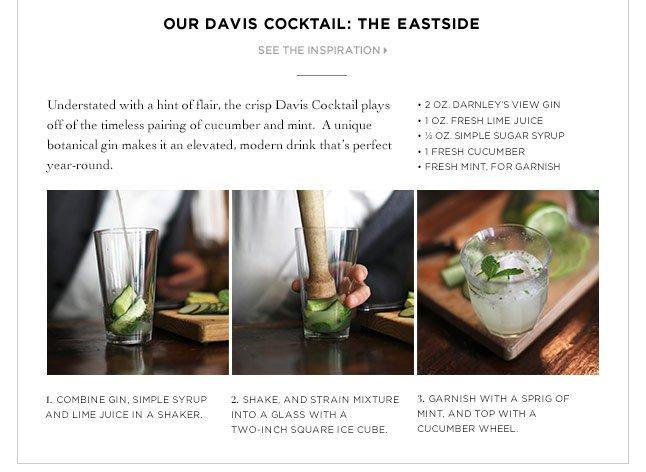 Our Davis Cocktail