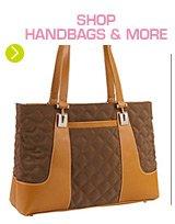Shop handbags and more