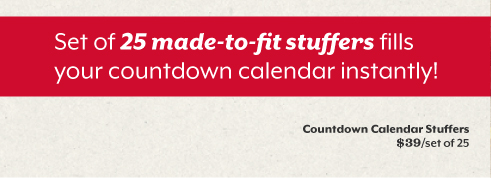 Let the holiday countdown begin.