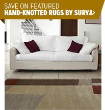 Save on Featured Hand-Knotted Rugs by Surya