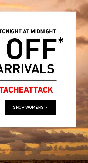 Ends Tonight: Women's 20% Off New Arrivals. Enter Code: STACHEATTACK