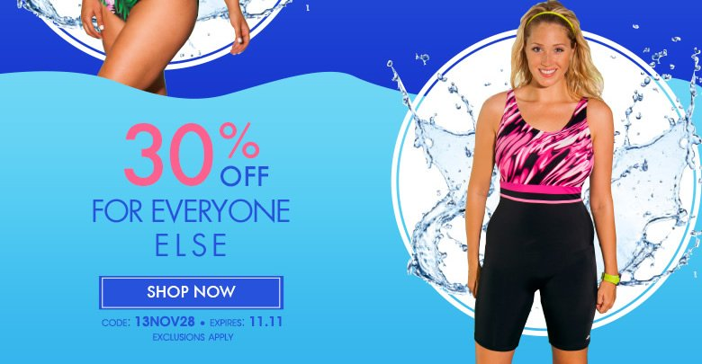 + 50% off for you and 30% off for everyone else