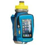 Nathan 4839NU QuickView Hydration Handhelds Mobile & Bottle Carrier Pack, Blue