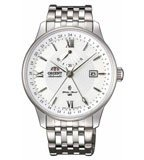 Orient DJ02003W Men's Constellation Stainless Steel White Dial Automatic Watch