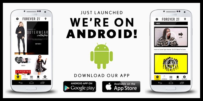 We're On Android!