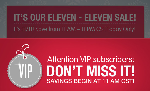 Hey VIP - 30% Off $30+ Is On The Way!