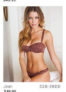 Jean lingerie set