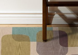 Art Underfoot: Graphic Rugs