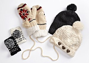 Plush Cold Weather Accessories