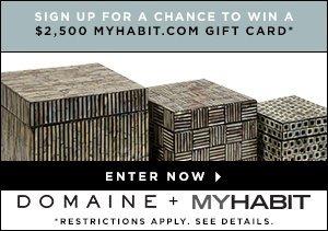 WIN A $2,500 MYHABIT GIFT CARD