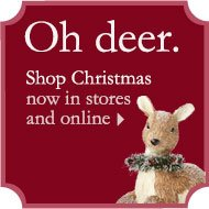 Oh deer. Shop Christmas now in stores and online