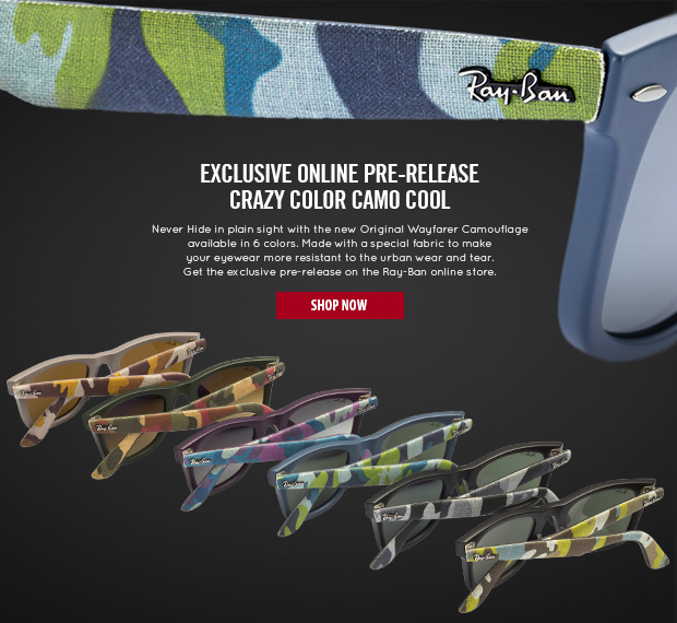 Crazy Color Camo Cool