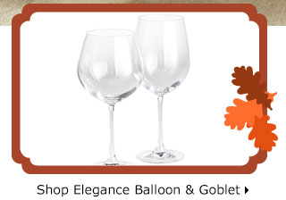 Shop Elegance Balloon & Goblet