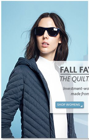 Fall Favorite - The Quilted Jacket - Shop  Women