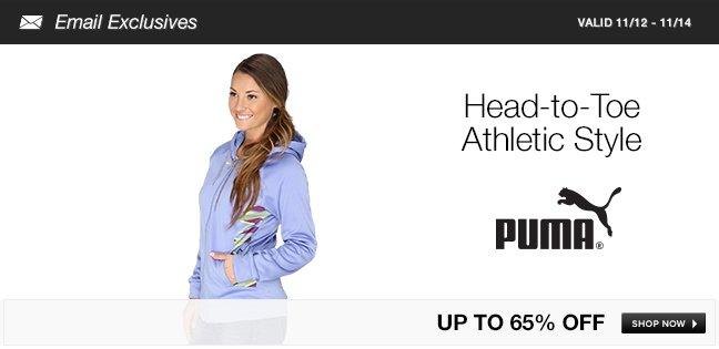 PUMA Head-to-Toe Athletic Style