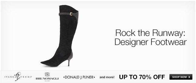Rock the Runway: Designer Footwear