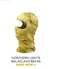 Northern Lights Balaclava $24.95